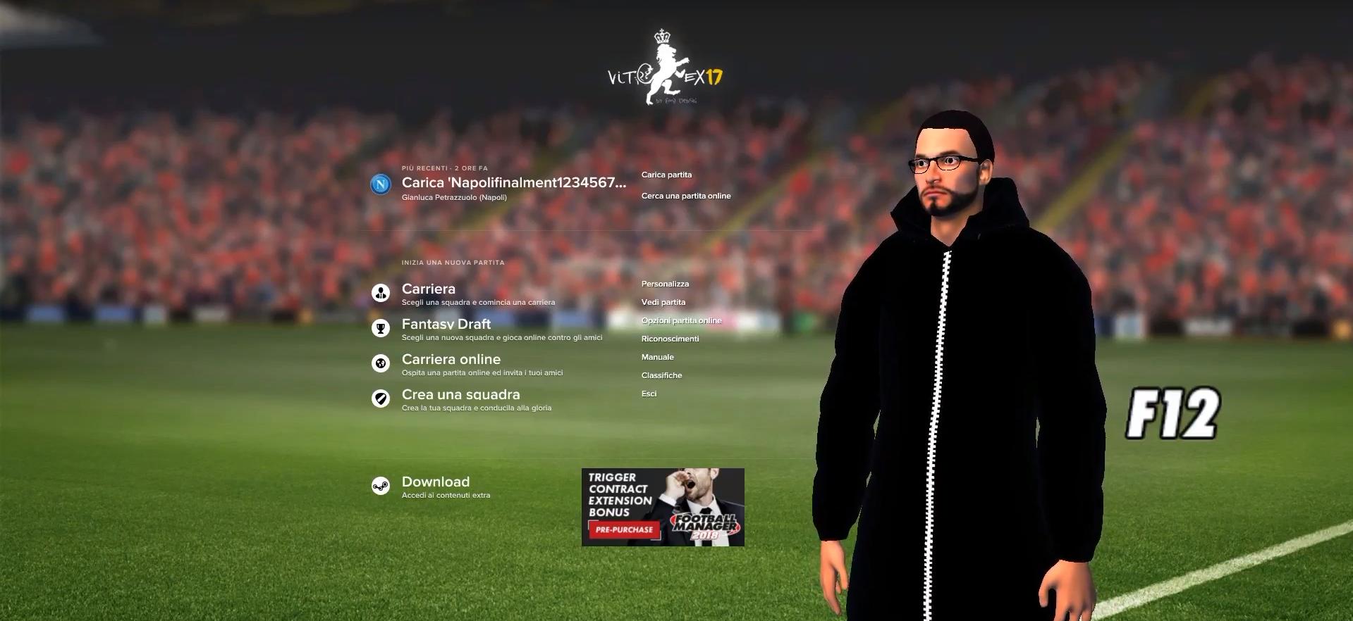 Screenshot FM18