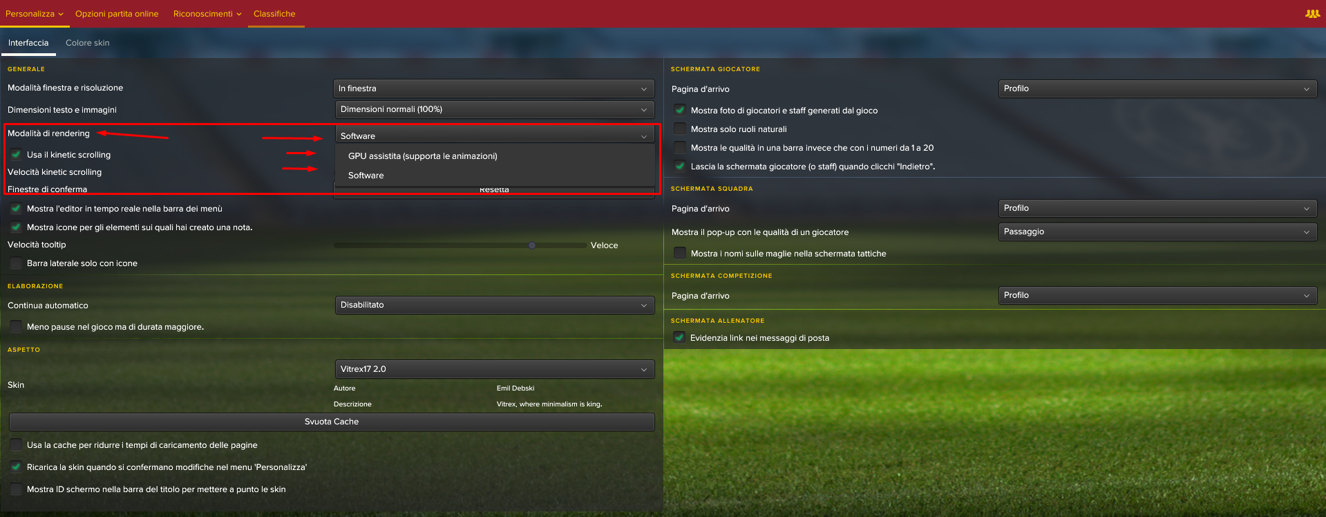 GPU Software Football Manager