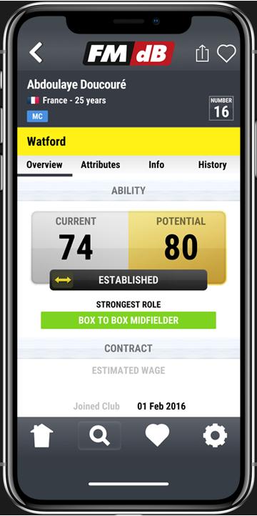 FMDB Football Manager database