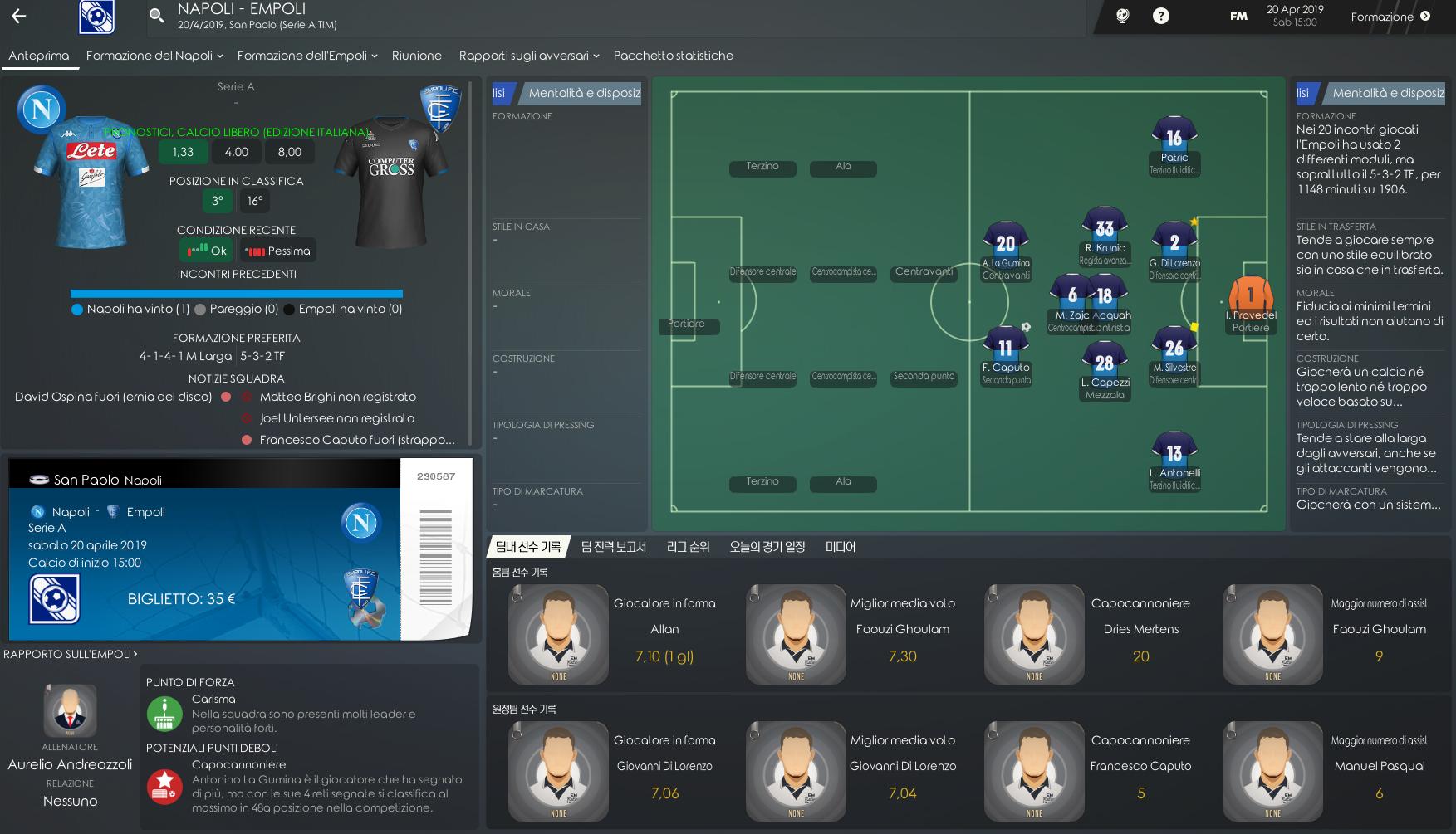 Emon Skin Football Manager 2019 - Parte 2