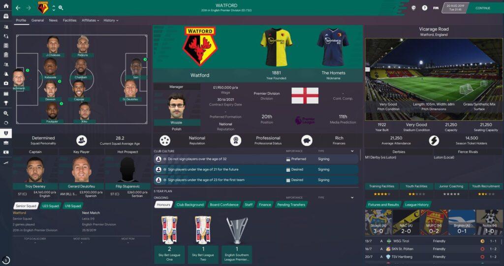 Teal Twenty Skin v1.1 - Football Manager 2020