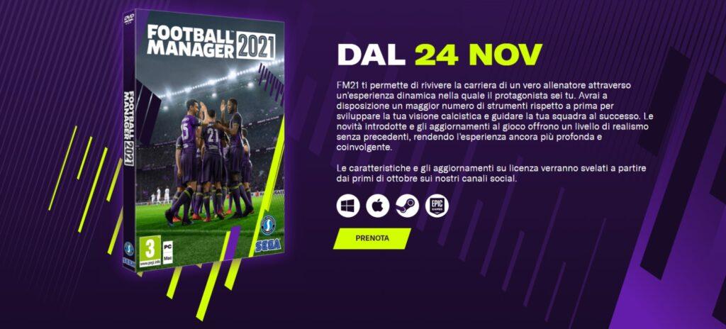 Football Manager 2021 - 24 Novembre