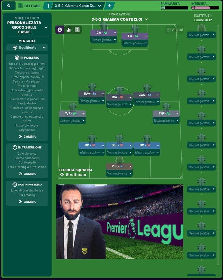 352 Giamma Conte Football Manager 2021