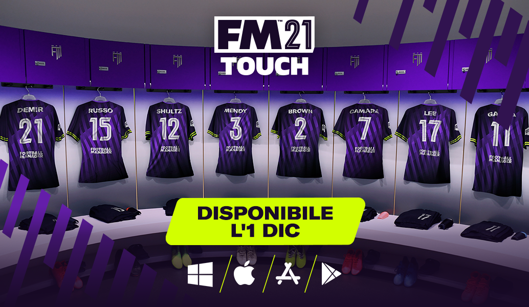 Football Manager 2021 Touch data di uscita