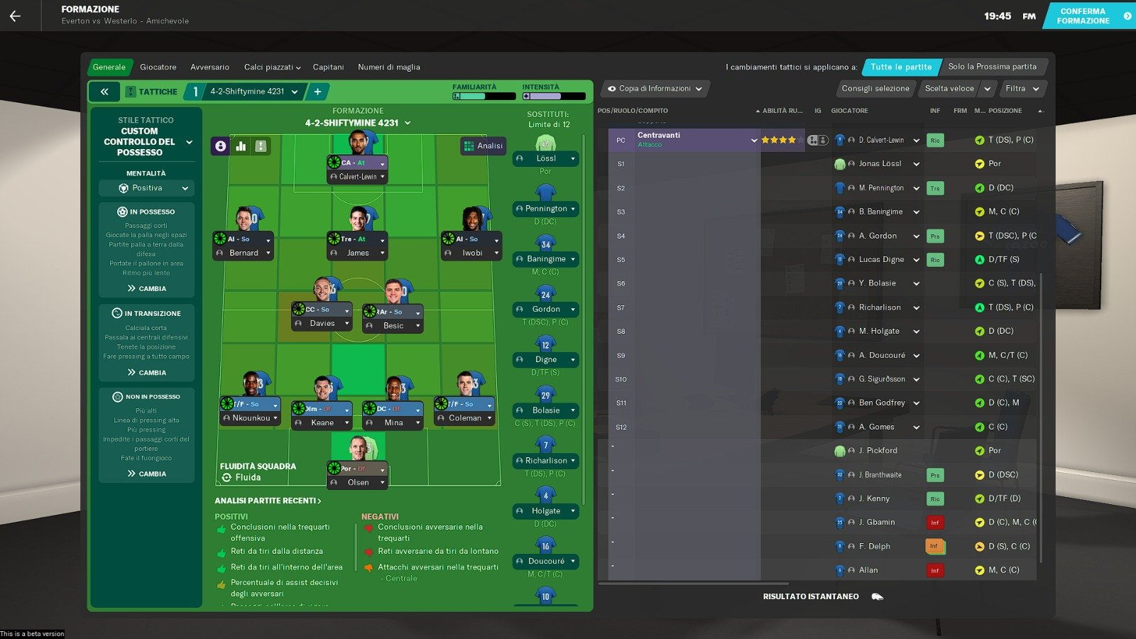 Vincechup Skin Football Manager 2021
