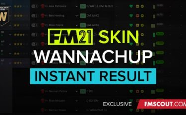 Wannachup Instant Result - Football Manager 2021