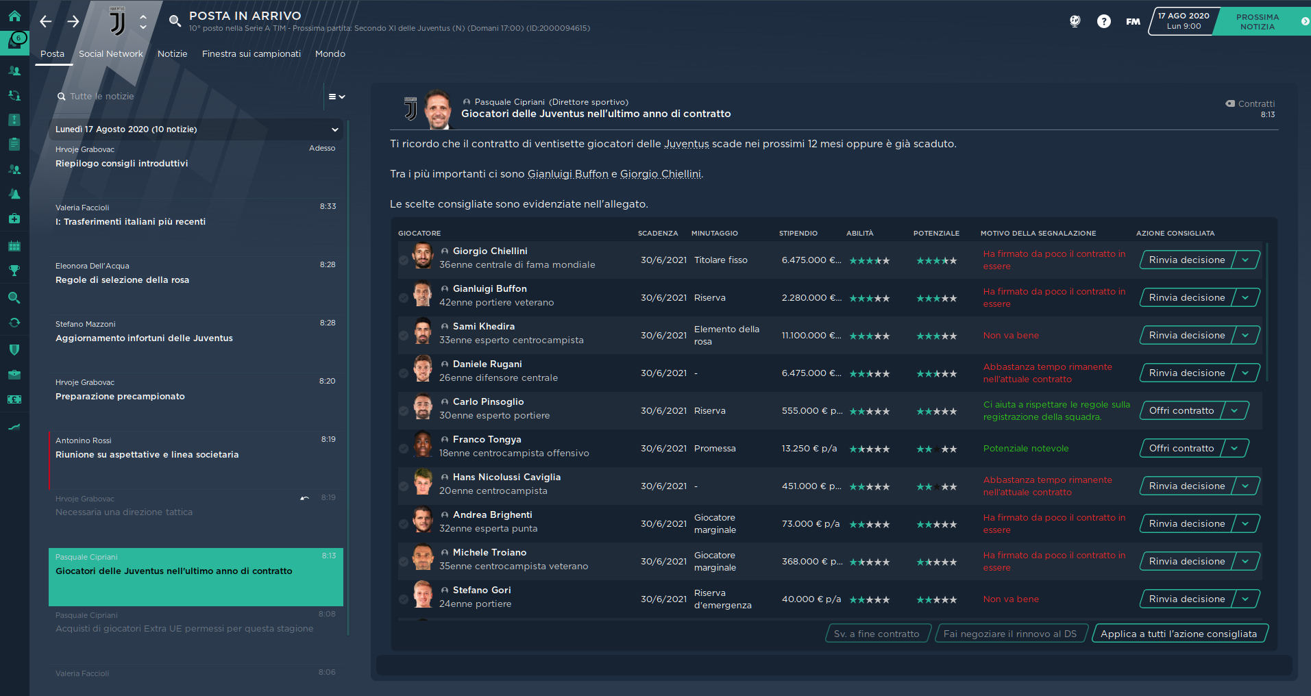 Material Skin Football Manager 2021