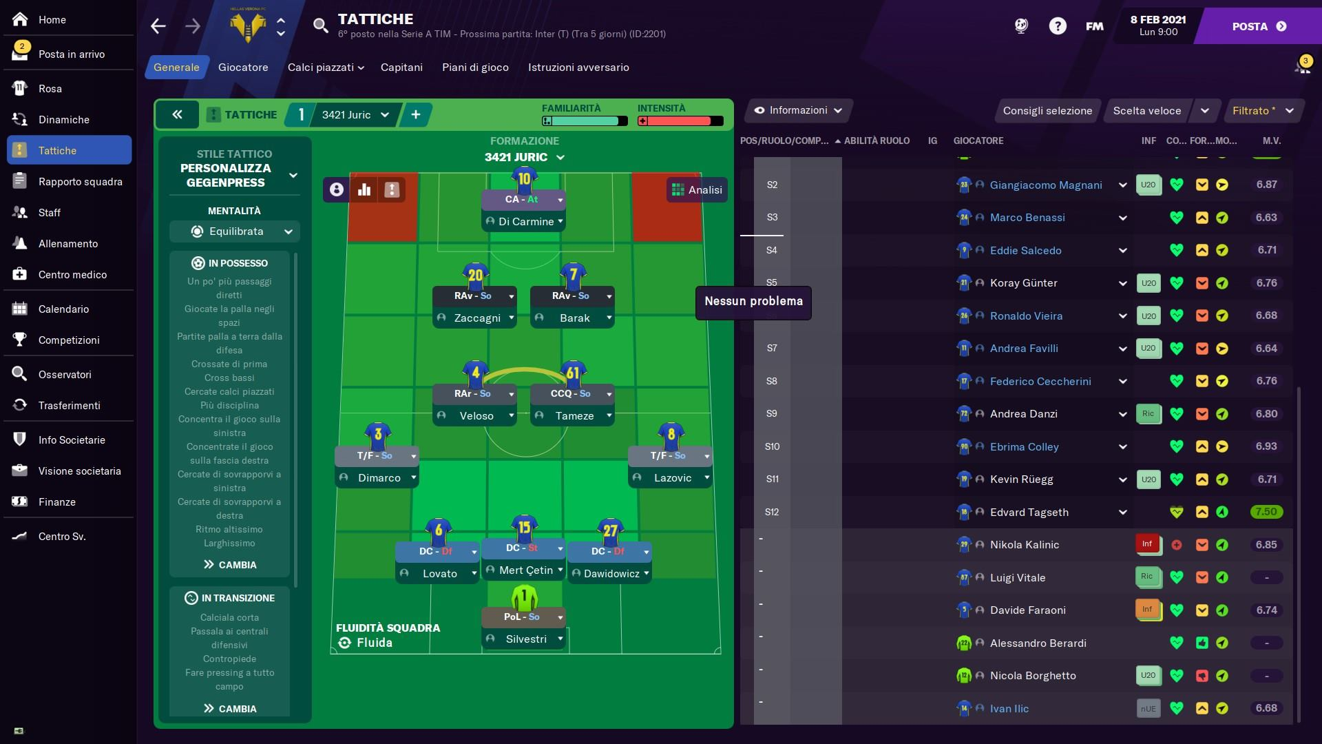 3421 Juric Football Manager 2021