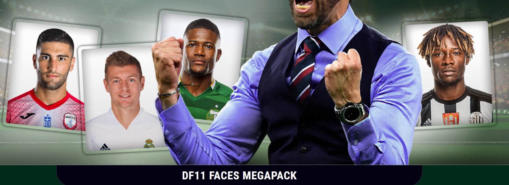 DF11 Facepack Football Manager 2021